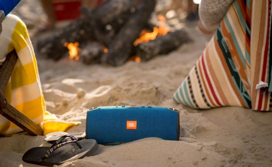 JBL Xtreme – Robuster Bluetooth-Lautsprecher mit sattem Klang und Spritzwasserschutz