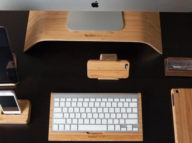 Apple: Komplett in Bambus