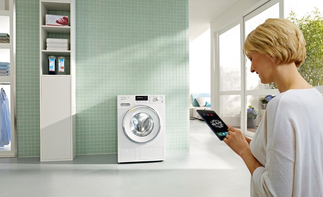 Miele: Waschmaschine informiert per App, wenn Waschmittel ausgeht