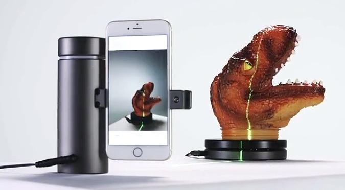 Eora: 3D-Scanner fürs Smartphone