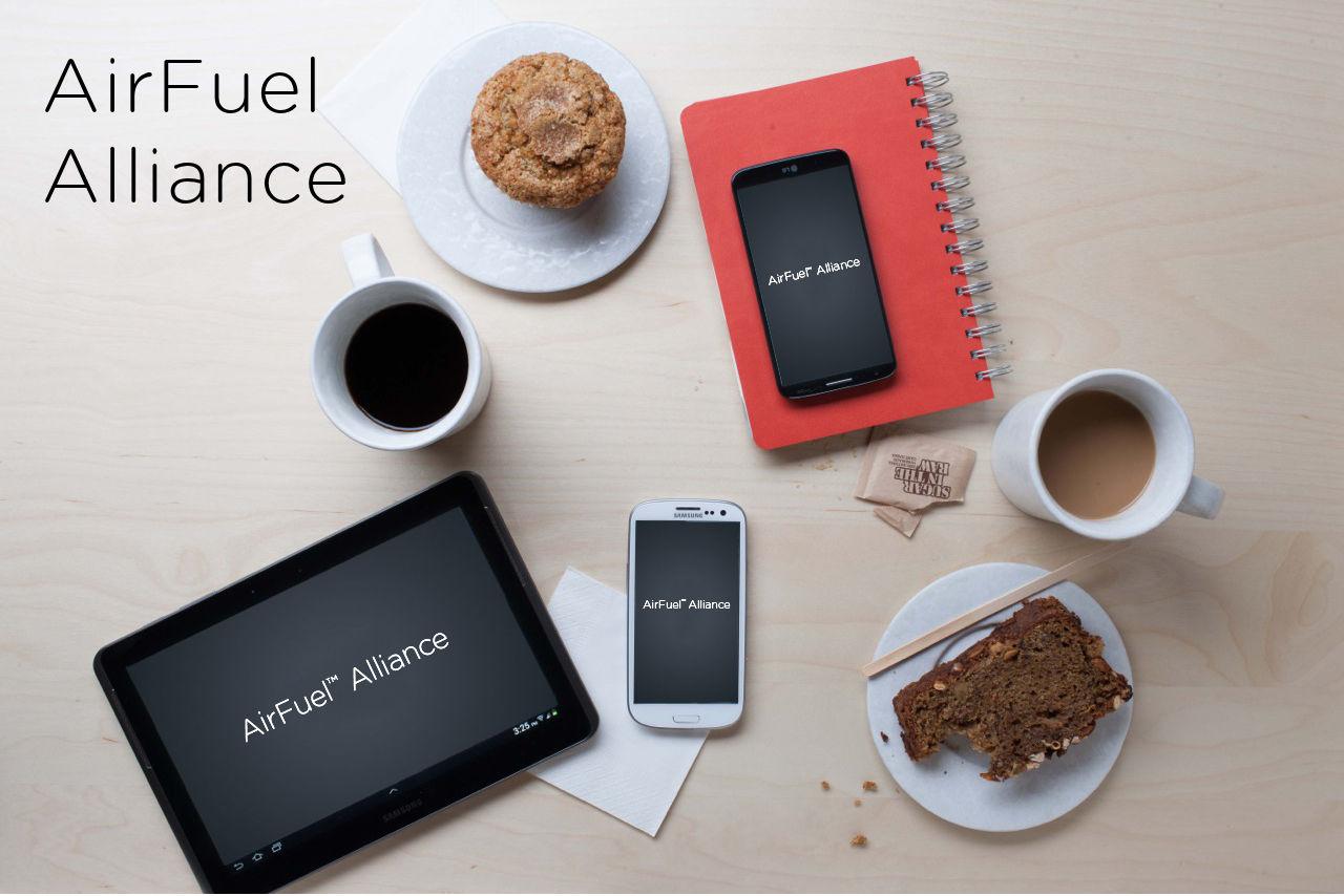 Induktives Laden AirFuel-Alliance