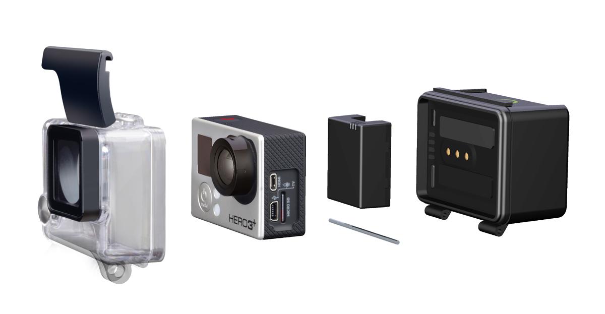 Ausgedehnte GoPro-Power mit Action Packs von Re-Fuel by Digipower
