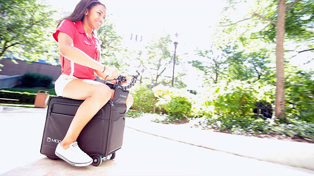 Modobag: Koffer zum Fahren