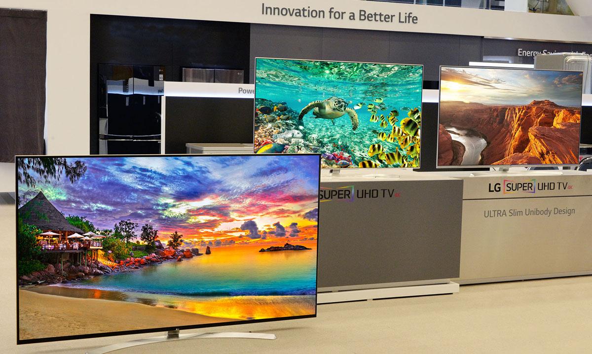 LG beeindruckt mit neuem SUPER UHD TV Lineup auf der CES 2016