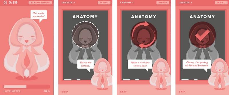 Mobile | HappyPlayTime: Die App für mehr Spass mit dem weiblichen Körper