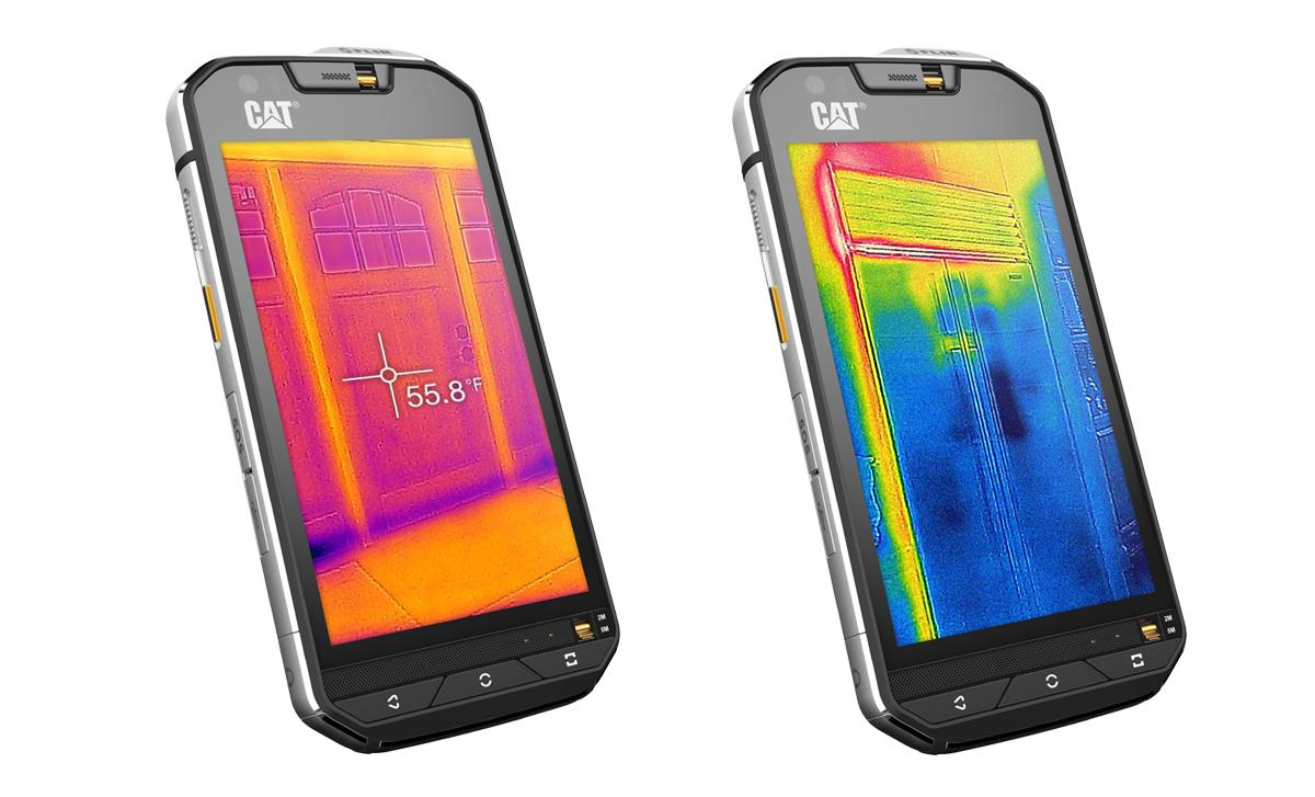 CCat S60 Smartphone mit Wärmebildkamer