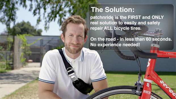 patchnride: Das superschnelle Reparatur-Set für Fahrradreifen #Video