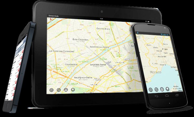 Clevere Reise-App Maps.Me - spart Geld und Nerven