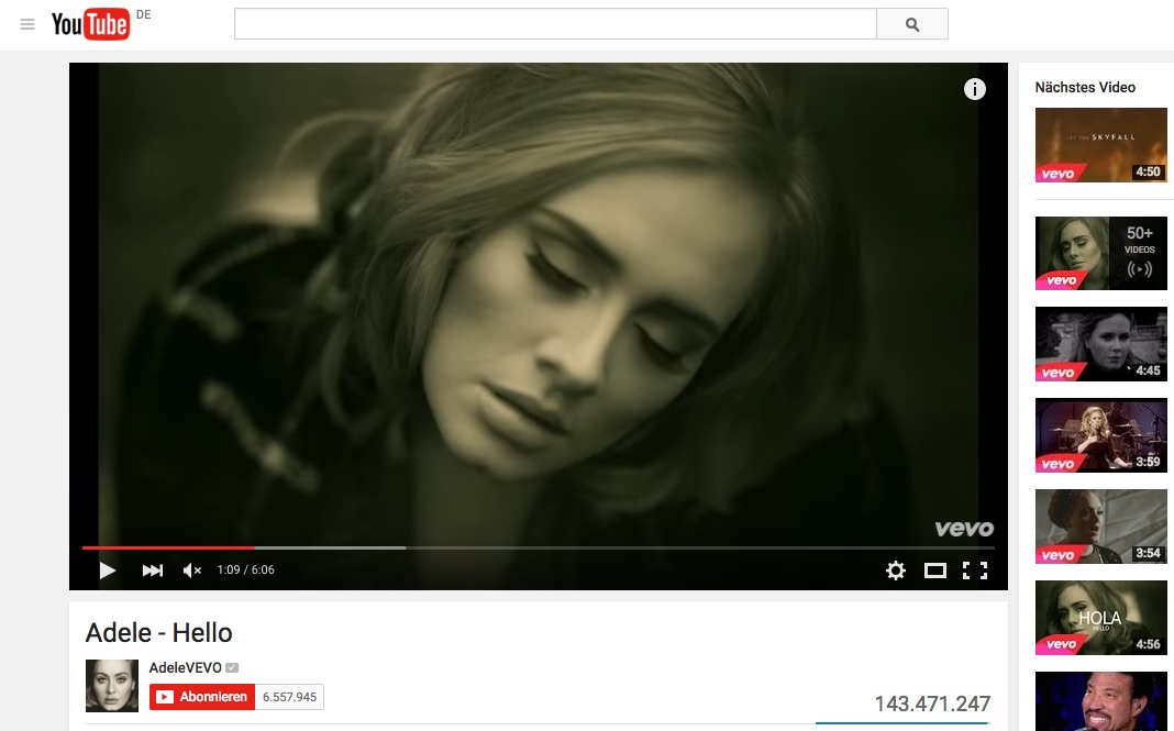 GEMA schliesst Vertrag mit YouTube