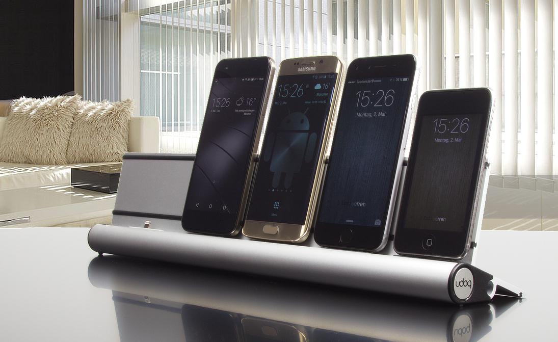 Erste Ladestation für Mobilgeräte sämtlicher Hersteller