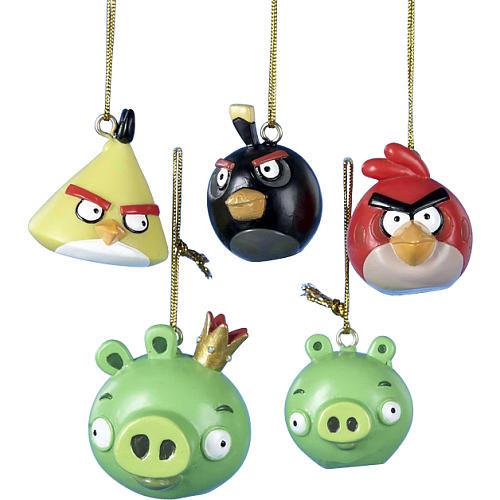 angry birds weihnachtsschmuck