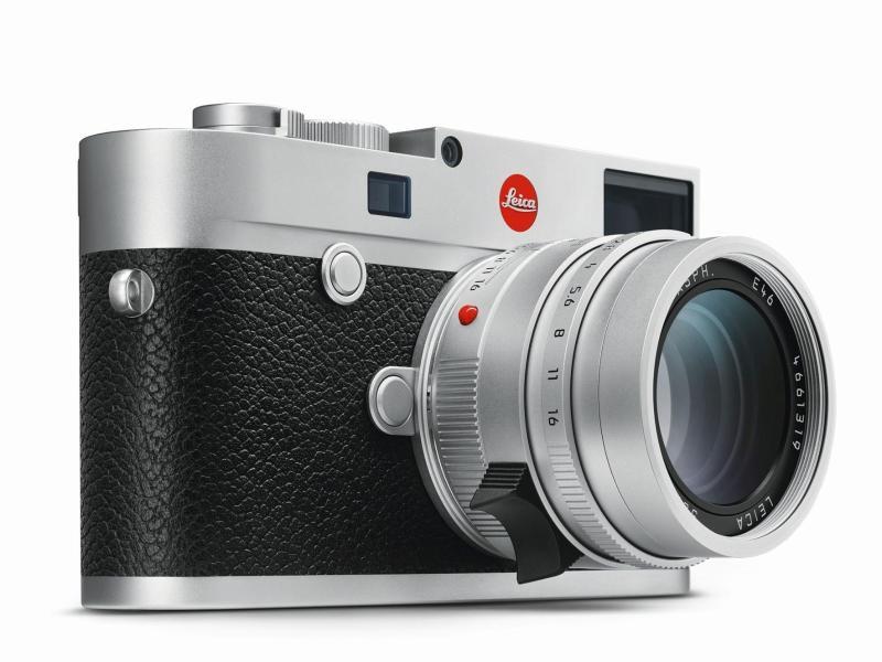 Leicas neue M10 hat einen Vollformatsensor mit 24 Megapixeln Auflösung. Foto: Leica