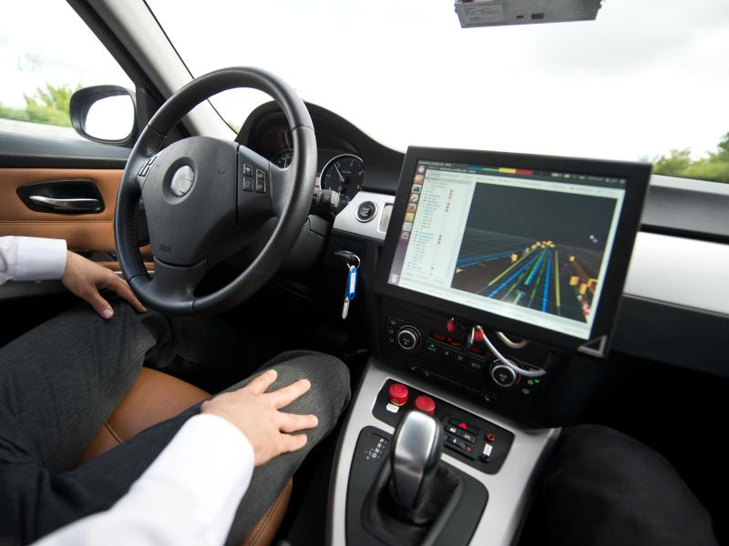 Bosch Roboter-Taxis