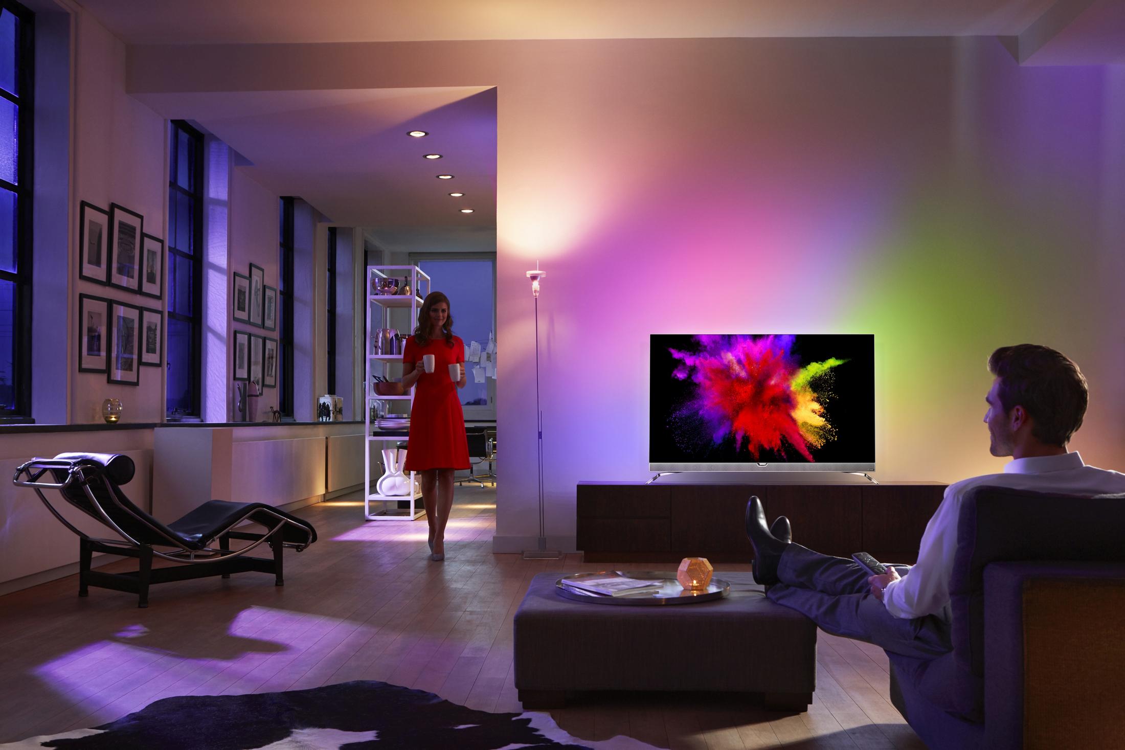 philips OLED TV schüber fernsehen