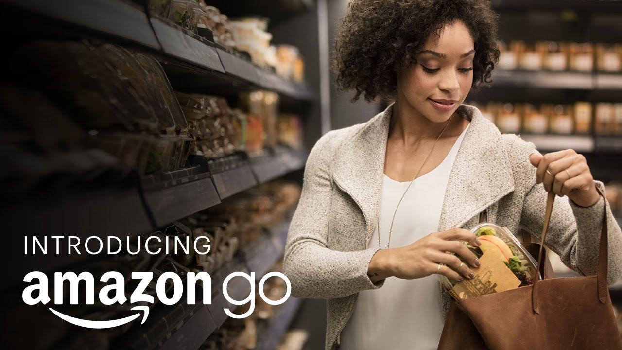 Endlich eröffnet! Amazon GO