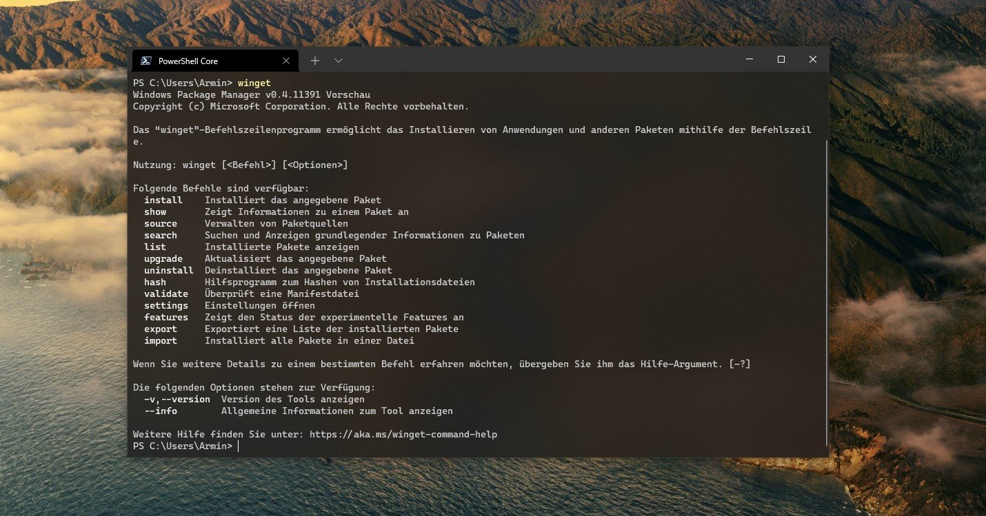 windows-package-manager-1.0-ist-erschienen:-ein-besserer-store